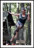 I heard she's a swinger