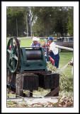 Annual sorghum press