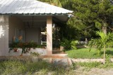 veranda in front of the house