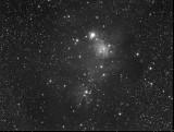 NGC2264 - The Cone Nebula  12-Feb-2010