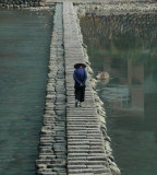 Traditional crossing at Xuexi