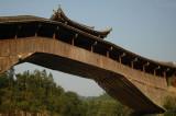 Two Brothers bridge at Wenxiang