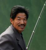 Fisherman near Baishanzun