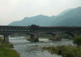 Long corridor bridge at Longquen
