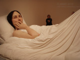 Ron Mueck at the National Gallery Of Victoria, April 2010