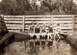 Piscina de los años 20 o 30 en Bella Vista