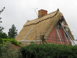 Thatching in Thaxted, almost finished