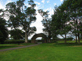 Entrance to Lanercost Priory  from the otherside