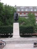 FDR's statue in Grosvenor Square