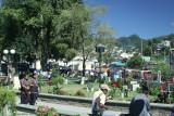 Vista Parcial del Parque Central de la Cabecera