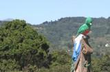 Detalle del Ave Quetzal en el Monumento a la Revolucion