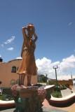 Antigua Estatua al Centro del Parque (hoy un quiosco)