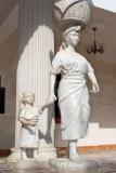 Detalle de Una de las Esculturas del Edificio Municipal