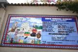 Mural con Informacion del Municipio