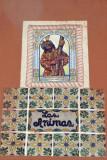Mosaico  Religioso en una de las Calles