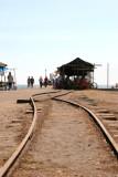 Restos de la Linea Ferrea Hacia el Muelle
