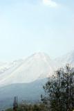 Vista del Volcan Santiaguito Desde el Nuevo Palmar