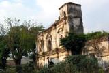 Vista Frontal de las Ruinas de la Antigua Iglesia