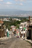 Desde la Poblacion se Tiene una Excelente Vista de la Capital de Guatemala