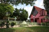 Iglesia Catolica y Parque Central