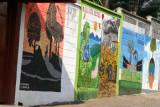 Murales en una de las Calles de la Poblacion