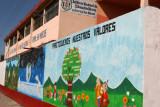 Murales en el Instituto de Educacion Basica