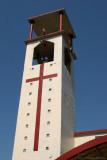Detalle de la Torre del Campanario de la Iglesia