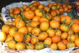 Venta de Mandarina en el Mercado Local