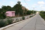 Calzada de Ingreso al Area Urbana Desde Sayaxche