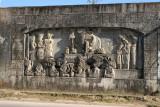 Mural con una Escena Maya en la Calle Principal de la Cabecera (1964 - 1966)