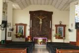Interior de la Iglesia Catolica de Morales