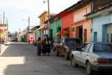 Escena Cotidiana en una de las Calles de la Cabecera