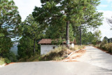 Carretera de Ingreso al Poblados Desde Quiche