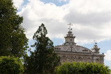 Vista Panoramica de la Fachada de la Iglesia