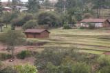 Vista de las Casas a las Afueras del Area Urbana
