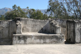 Detalle de la Parte Alta del Templo Norte