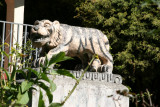 Escultura en el Parque Central