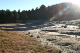 Escarcha en las Montañas al Amanecer (enero)