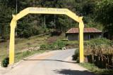 Arco de Bienvenida a la Cabecera
