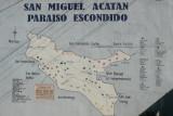 Mapa de la Region en el Edificio Municipal