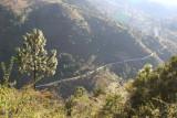 Vista Parcial de la Ruta Hacia San Miguel Acatan