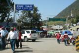 Frontera con Mexico - La Mesilla -