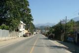 Carretera CA-1 Hacia Mexico a su Paso por Esta Cabecera
