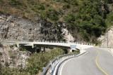 Puente Agua Caliente en la Ruta a la Cabecera