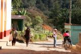 Calle de Ingreso a la Poblacion