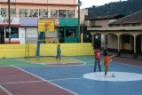 Cancha Deportiva en el Parque Central