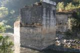 Detalle de las Bases del Antiguo Puente