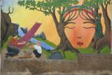 Mural en una de las Calles de la Cabecera
