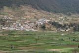 Vista Panoramica de Plantaciones de Verdura Cercanas a la Zona Urbana