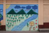 Mural en Escuela Urbana